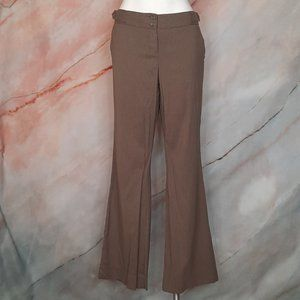 THE LIMITED Drew Fit Taupe Brown Dress Pants 10